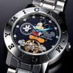 ディズニー ミッキー生誕80周年記念キスミッキー腕時計ブラック