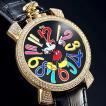 ミッキー ファンタジーカラー腕時計 ブラック