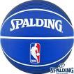 外用バスケットボール7号 SPALDING NBAロゴマン ラバー スポルディング73-359Z