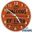 バスケットボール掛け時計 SPALDINGウォールクロック スポルディング10-001WC