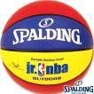 小学生 子供用 外用バスケットボール5号 SPALDINGジュニアNBA ラバー スポルディング83-279J