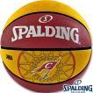 外用スポルディングバスケットボール7号 NBAキャバリアーズ ラバー SPALDING83-218Z
