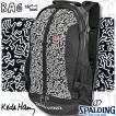 SPALDINGケイジャー キースヘリング リュック ブラック バスケットボールバッグ スポルディング40-007KHBK