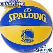 バスケットボール7号 SPALDING NBAゴールデンステイト ウォリアーズ スポルディング74-683J