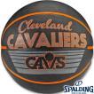 バスケットボール7号 スポルディング クリーブランド キャバリアーズ レトロ ラバー SPALDING83-322Z
