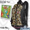 キースヘリング リュック アンディマウス スポルディング ケイジャー 収納バスケットボール バッグ SPALDING40-007KHAM