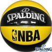 スポルディング フリースタイルバスケットボール7号 アンダーグラス イエローブラック エナメル SPALDING74-974Z