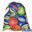 SPALDING ナップサック マルチボール バスケットボール バッグ リュック スポーツ スポルディング SAK001MLB MULTI BALL
