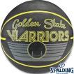 バスケットボール7号 スポルディング ゴールデンステイト ウォリアーズ レトロ ラバー SPALDING83-333Z