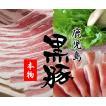 豚肉 黒豚 鹿児島 600g しゃぶしゃぶ すき焼き 肉 セット もも バラ
