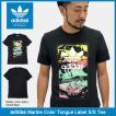 アディダス adidas Tシャツ 半袖 メンズ マーブル カラー タン ラベル オリジナルス(Marble Color Tongue Label S/S Tee Originals BS3297)