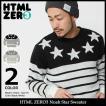 エイチティエムエル ゼロスリー HTML ZERO3 セーター メンズ ノア スター(html zero3 Noah Star Sweater クルーネック トップス)