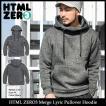 【送料無料】エイチティエムエル ゼロスリー HTML ZERO3 プルオーバー パーカー メンズ マージ リリック(Merge Lyric Hoodie HTML-PA150)