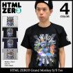 【送料無料】エイチティエムエル ゼロスリー HTML ZERO3 Tシャツ 半袖 メンズ グランド モンキー(Grand Monkey S/S Tee トップス)