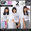 【11月末入荷予定】エイチティエムエル ゼロスリー HTML ZERO3 Tシャツ 半袖 メンズ タスク ハブ ファン ジャンク フード(Task have Fun)