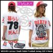 ミシカ MISHKA カットソー 半袖 メンズ ラムール デス アダー フットボール ジャージ(Lamour Death Adder Jersey メンズ・男性用 SM151146M)