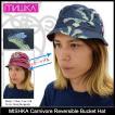ミシカ MISHKA ハット メンズ カーニボア リバーシブル バケットハット(Carnivore Reversible Bucket Hat 帽子 メンズ・男性用 SM151720W)