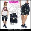 ミシカ MISHKA ハーフパンツ メンズ カーニボア(mishka Carnivore Short ショーツ カーゴショーツ ボトムス メンズ 男性用 SM151804B)