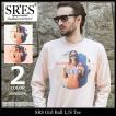 エスアールエス SRES Tシャツ 長袖 メンズ ガール ボール(SRS Girl Ball L/S Tee カットソー トップス ロンt KNT01313)