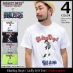 エスアールエス SRES Tシャツ 半袖 メンズ ワンピース スケーティング デイズ ! ルフィ コラボ(ONE PIECE Skating Days ! Luffy S/S Tee)