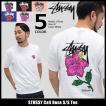 ステューシー STUSSY Tシャツ メンズ Cali Rose 1904005