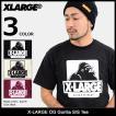 エクストララージ X-LARGE Tシャツ 半袖 メンズ OG ゴリラ(x-large OG Gorilla S/S Tee カットソー トップス M17D1119)