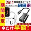 iPhoneX iPhone8/8 Plus 互換 イヤホン 2in1 充電変換ケーブル 2ポート付き イヤホン 変換アダプタ レビューを