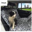 犬 ドライブ用 カーシート カバー 後部座席用 裏ゴムなしタイプ(迷彩柄)防水 小型犬〜大型型犬用 ペット マット 犬用品