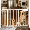 犬 猫 柵 仕切り ゲート オートロックゲート M