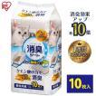 猫砂 アイリスオーヤマ まとめ買い システム猫トイレ用脱臭シート クエン酸入り 10枚 TIH-10C