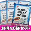 猫砂 トイレに流せる 紙 消臭 紙製 7L 6袋セット アイリスオーヤマ(あすつく)