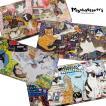 マンハッタナーズ manhattaner's ライブリーパース 長財布 かぶせ レディース 本革 猫 075-1655 財布 ブランド 可愛い 猫柄