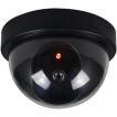 送料390円 ドーム型ダミーカメラ LED点灯 防犯カメラ オフィスや店舗にも