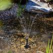 送料無料 ソーラー 噴水  ソーラー 池 ポンプ 庭の噴...