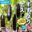 ナス苗 すずなりトロトロなす(長ナスタイプ) 野菜苗 自根苗 10.5cmポット 2個セット