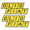 OLIO フィアットステッカー(2枚セット)