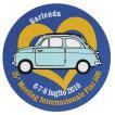 フィアット FIAT 500 CLUB ITALIA 35thミーティングステッカー