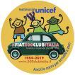 フィアット FIAT 500 CLUB ITALIA UNICEF 2019ステッカー(グリーン)