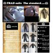 TRAD (トラッド) ウエットスーツ ロングスリーブ ジャケット タイプ