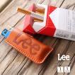 ライターケース 革 ライター入れ 本革 レザー Lee リー ブランド タバコ 煙草 おしゃれ LA0009