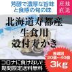 北海道より期間限定8月11日発送分まで在庫限り 送料無料 殻付寿かき 3kg 生食 生牡蠣 訳あり 通販 お取り寄せ