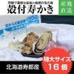yahoo店限定値下げ 北海道寿都産 殻付寿かきLLサイズ16個 通販 お中元 ギフト