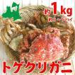 トゲクリガニ 大サイズ(メス)約1kg3~5ハイ(塩...