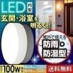 LEDポーチライト 照明 天井 屋外 防水 浴室灯 防湿 バ...