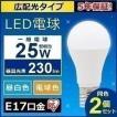 LED電球 E17 広配光タイプ 25W形相当 LDA2N-G-E17-2T42P 2個セット アイリスオーヤマ