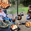 薪ストーブ BBQ バーベキュー アウトドア キャンプ ポータブル野外クッキングシステム「Ozpig International オージーピッグ インターナショナル 本体セット」