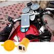 バイク用 汎用 USBチャージャー 5V1A イエロー 黄色 12V/24V 防水 スイッチ付き フタ付き 充電