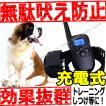 無駄吠え防止 トレーニング 充電式 犬 ワンちゃん 首輪 しつけ 無駄吠え防止器 禁止 犬しつけ ペット用品 グッズ