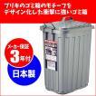 岩崎工業 分別ごみ箱 スーパーカン角型60 中仕切分別(ごみ箱/プラスチック/ダストボックス)