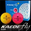 飛ぶ ゴルフボール カエデゴルフボール(KAEDE fly)  非公認球 高反発 1ダース(12個入) オレンジ